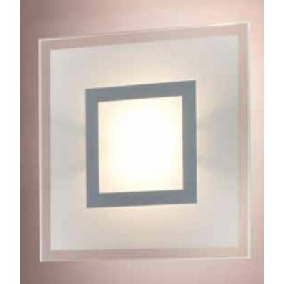 Ring Ceiling / Wall Lamp Size: 7.87 x 7.87