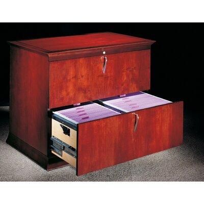 Low Price Paoli Prominence Two Drawer Lateral File Cabinet Finish: Light  Cherry High Sheen
