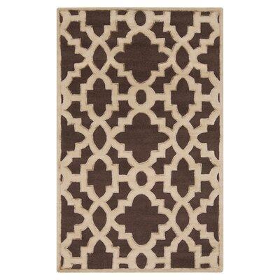 Modern Classics Dark Chocolate Area Rug Rug Size: Rectangle 5 x 8