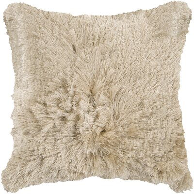 Classic Comfort Throw Pillow Color: Oyster Gray, Filler: Down