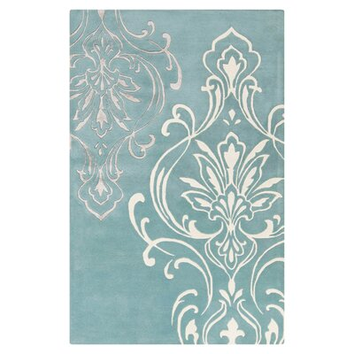 Modern Classics Midnight Green Area Rug Rug Size: Rectangle 5 x 8