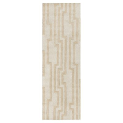 Modern Classics Antique White Area Rug Rug Size: Runner 26 x 8
