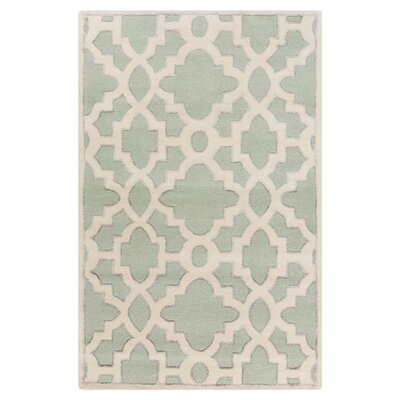 Modern Classics Light Celadon Area Rug Rug Size: Rectangle 2' x 3'