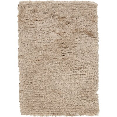 Whisper Beige Area Rug Rug Size: Rectangle 9 x 12
