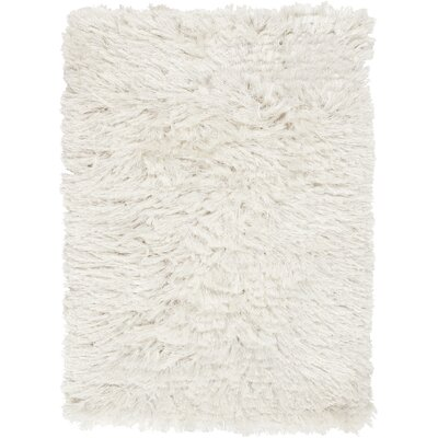 Whisper Hand Woven Ivory Area Rug Rug Size: Rectangle 5 x 8