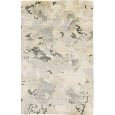 Slice of Nature Beige Area Rug Rug Size: 2 x 3