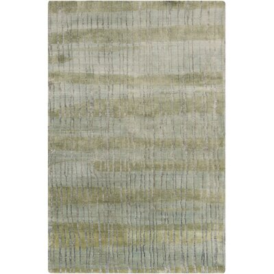 Luminous Moss/Light Gray Area Rug Rug Size: 9 x 13