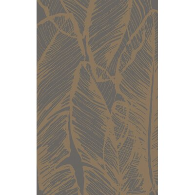 Modern Classics Chocolate Area Rug Rug Size: Rectangle 8 x 11