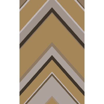 Modern Classics Taupe Area Rug Rug Size: Rectangle 5 x 8