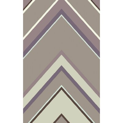Modern Classics Mauve/Multi Geometric Area Rug Rug Size: Rectangle 5 x 8