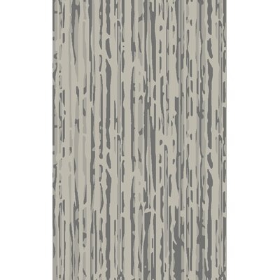 Modern Classics Gray Area Rug Rug Size: Rectangle 5 x 8