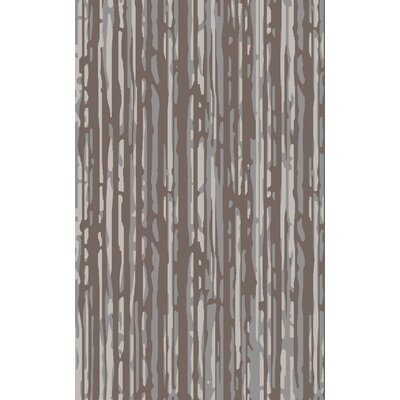 Modern Classics Gray/Taupe Area Rug Rug Size: Rectangle 5 x 8