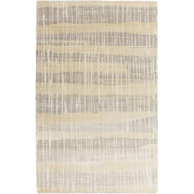 Luminous Olive/Gray Area Rug Rug Size: 8 x 11