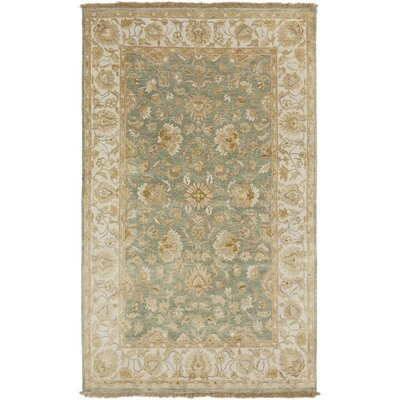 Temptress Sea Foam/Ivory Rug Rug Size: Rectangle 5 x 8