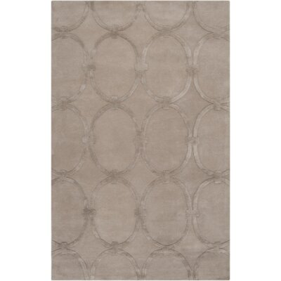 Modern Classics Taupe Rug Rug Size: Rectangle 33 x 53