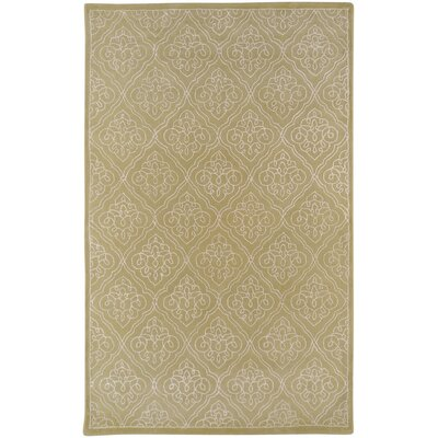 Modern Classics Pale Green Rug Rug Size: Rectangle 5 x 8