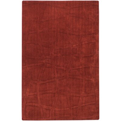 Sculpture Brick Checked Area Rug Rug Size: 2 x 3