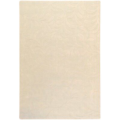 Sculpture Ivory Area Rug Rug Size: Rectangle 33 x 53