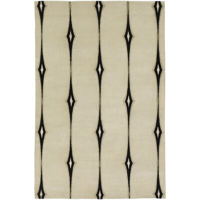 Luminous Ivory Area Rug Rug Size: 2 x 3