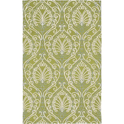 Modern Classics Chartreuse Area Rug Rug Size: Rectangle 5 x 8