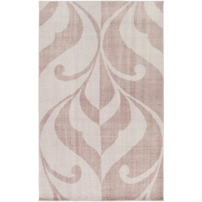 Paradox Hand-Knotted Purple Area Rug Rug Size: Rectangle 5 x 76