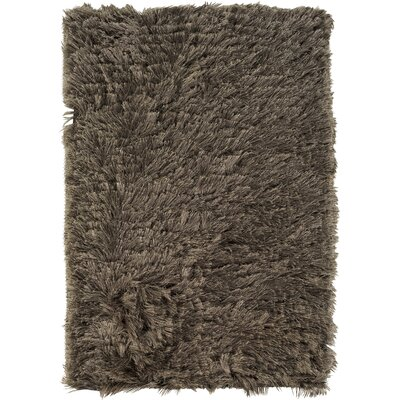 Whisper Gray Solid Area Rug Rug Size: Rectangle 2 x 3