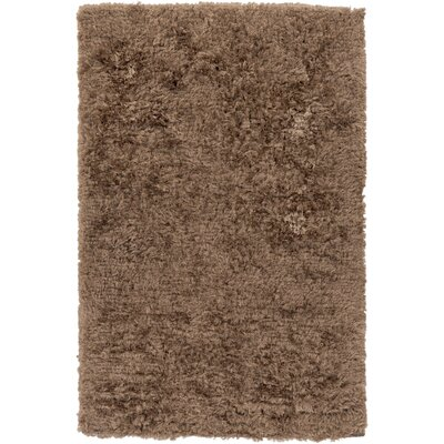 Whisper Taupe Solid Area Rug Rug Size: Rectangle 5 x 8