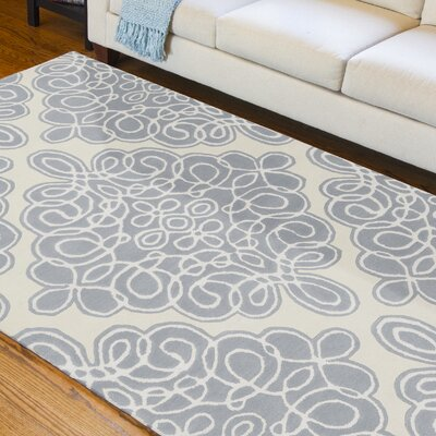 Modern Classics Cream Area Rug Rug Size: Rectangle 5 x 8