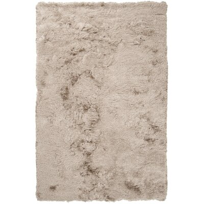 Whisper Gray Solid Area Rug Rug Size: 9 x 12