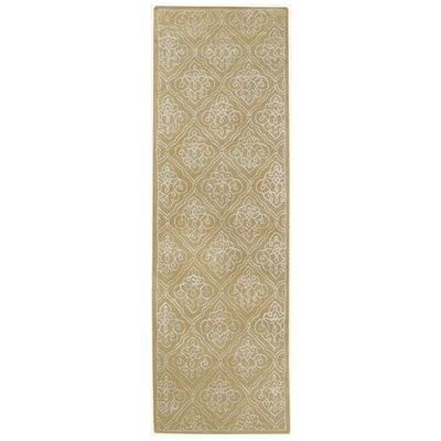 Modern Classics Pale Green Rug Rug Size: Runner 26 x 8