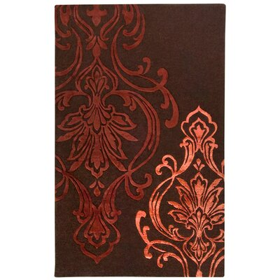 Modern Classics Chocolate/Rust Rug Rug Size: Rectangle 5 x 8