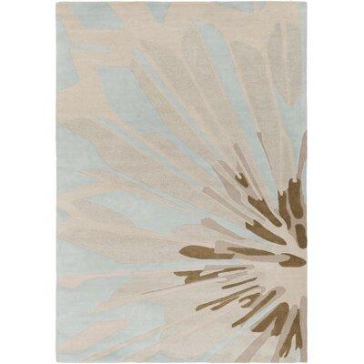 Modern Classics Antique White/Brown Area Rug Rug Size: 9 x 13