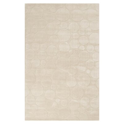 Sculpture Bone Area Rug Rug Size: 33 x 53
