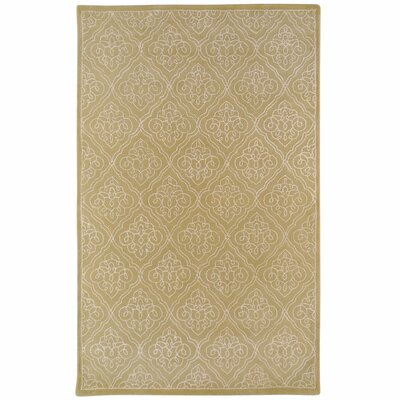 Modern Classics Split Pea Graphic Rug Rug Size: 9 x 13