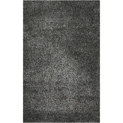 Fusion Silver/Gray Area Rug Rug Size: Rectangle 36 x 56