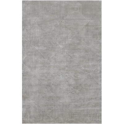 Luminous Gray Area Rug Rug Size: 4 x 6