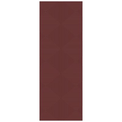Luminous Raspberry Area Rug Rug Size: Runner 26 x 10