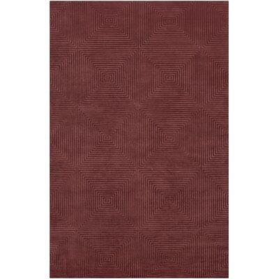 Luminous Raspberry Area Rug Rug Size: 8 x 11