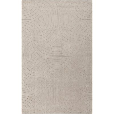 Sculpture Ivory Area Rug Rug Size: 2 x 3