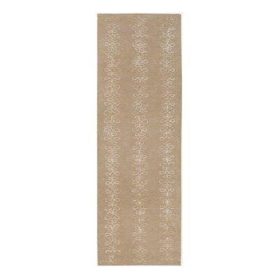 Modern Classics Tan Rug Rug Size: Runner 26 x 8