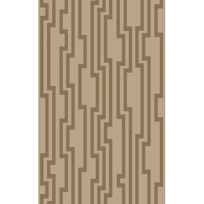 Modern Classics Khaki Area Rug Rug Size: Rectangle 5 x 8