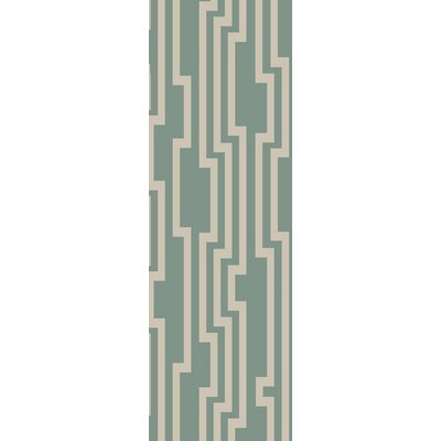 Modern Classics Cloud Blue Area Rug Rug Size: Runner 26 x 8