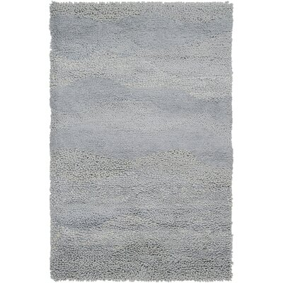 Topography Hand-Woven Light Gray Area Rug