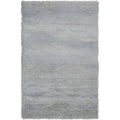 Topography Hand-Woven Light Gray Area Rug