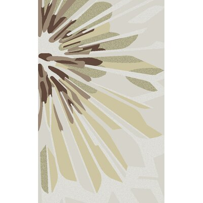 Modern Classics Oyster Gray/Brown Area Rug Rug Size: Rectangle 2 x 3