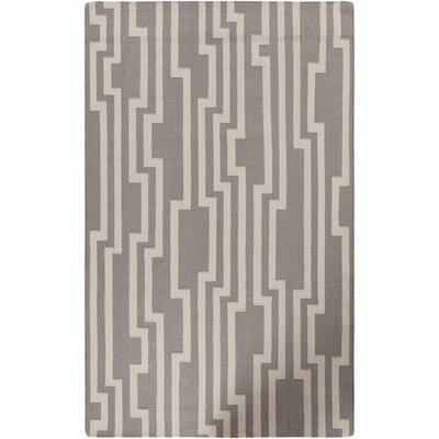 Carson Flint Gray Area Rug Rug Size: Rectangle 36 x 56