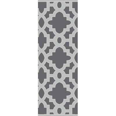 Modern Classics Iron Ore Area Rug Rug Size: Runner 26 x 8
