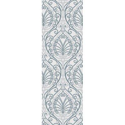 Modern Classics Silver Cloud Area Rug Rug Size: Runner 26 x 8