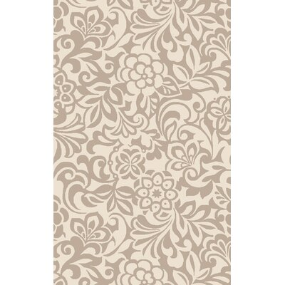 Modern Classics Winter White/Parchment Area Rug Rug Size: Rectangle 5 x 8