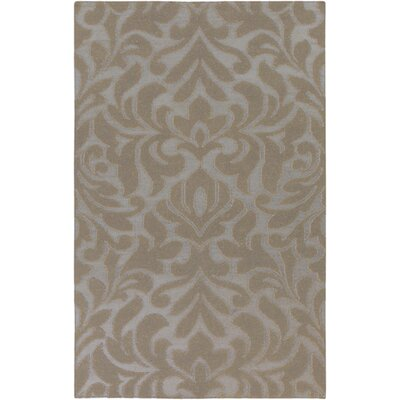 Market Place Hand-Woven Flint Gray Area Rug Rug Size: Rectangle 5 x 8